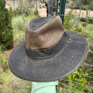Wax Cotton Hat